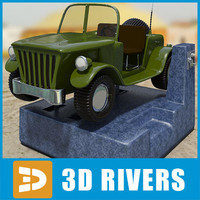 kiddie ride 3d model