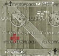 U.S. Medical crate