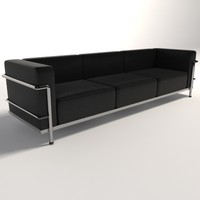 Le Corbusier LC3 Three-Seater sofa