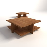 Frank Lloyd Wright Lewis Coffee Tables