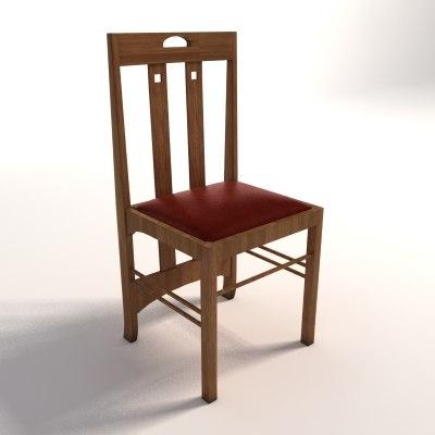 Charles Rennie Mackintosh Low Ingram chair