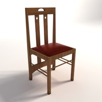 Charles Rennie Mackintosh Low Ingram chair