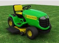 Riding lawn mower mentalray