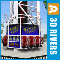 Space Shot ride by 3DRivers