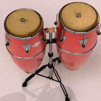 Conga and tumba (percussion)