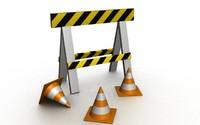 3dsmax construction traffic cones