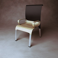 generic design chair 3d model