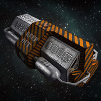 Sci Fi Space Satellite - Miscellaneous