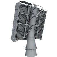 radar surveillance 3d c4d