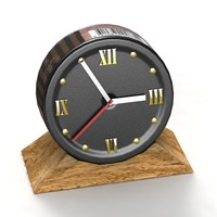 Snuffbox Clock