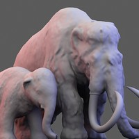 scan mammoth baby obj