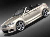 bmw 1 convertible 2008
