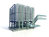 desalination rack 3d model