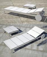 sun lounger 3d model