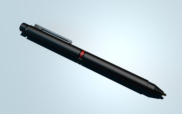 tri-pen pen 3d model - Lamy Pen... by idesignguru