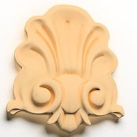 classical decoration wall 3d model