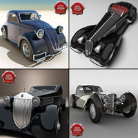 Retro Cars Collection V4