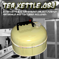 Tea Kettle.obj