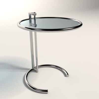 3d eileen gray adjustable table - Eileen gray table original ...