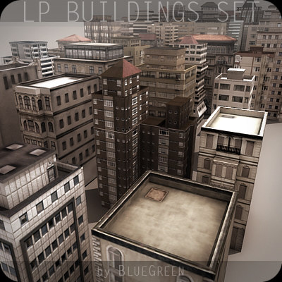 LP Buildings Set