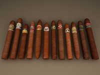 3d Cigar Pack 12 brand cigars