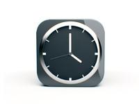 design clock 3d model