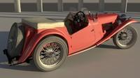 mg tc 1949 3d model