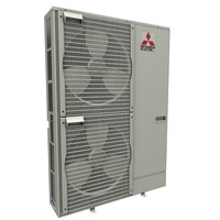 heat pump mitsubishi ecodan 3d model
