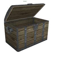 chest games 3d model