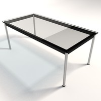 Le Corbusier LC10 Dining & Coffee Tables 180x90