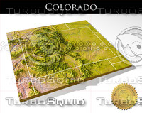 3ds max relief colorado