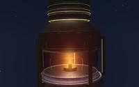 c4d oil lamp