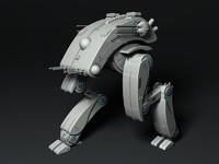 Origami Combat Walker