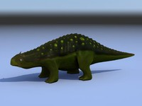dragon dino cartoon 3d model