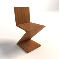 Gerrit Thomas Rietveld Zig Zag Chair