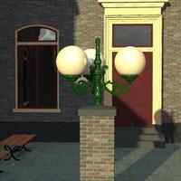 candel 3d model