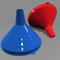 kitchen funnel 3d model