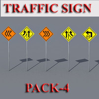 Traffic Sign Pack-4