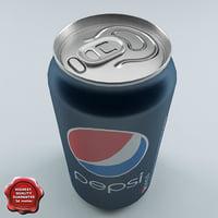 Drink Pepsi 0,33L Aluminum Can V2