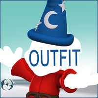 "Fantasia Mickey""s Wizardly OUTFIT (Outfit Only Purchase)"