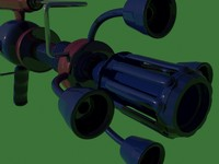 raygun rifle 3d model