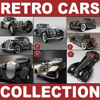 Retro Cars Collection V1