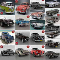 Retro Cars Collection V2