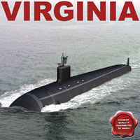 Submarine Virginia