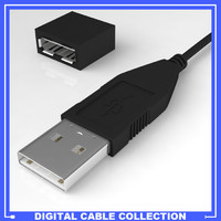 USB Male/Female connection