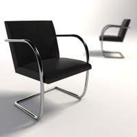 Mies Van Der Rohe Brno Tubular Chair