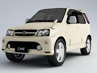 toyota cami 3d model