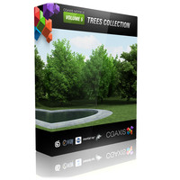CGAXIS models volume 5 trees collection