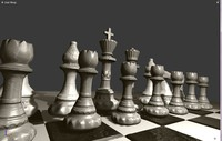 chess games 3d blend