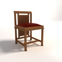 Frank Lloyd Wright Coonley small Chair